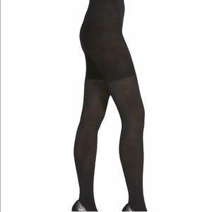 Faux Lace-Up Pattern Stockings Full Pantyhose Mock Spandex Sheer Thigh-Highs Hi